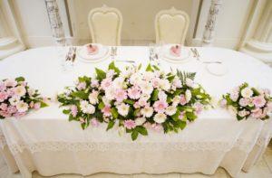 仙台 結婚式二次会貸切会場「DUCCA 仙台駅前店」の主賓席イメージ